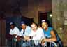 "Pistoia Blues Festival, July, 1988; James Wheeler, ""Cadillac"" Sam Burton, Harlan Terson, John Primer"